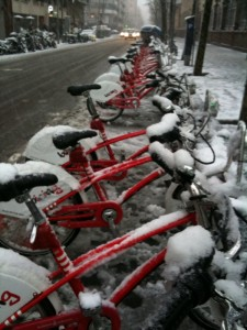 bicings in the snow, mar82010
